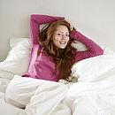 White Bedlinen: Organic Cotton Pillow Case Set