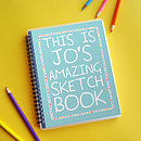Amazing Sketch Book_aqua