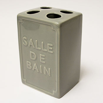 Ceramic Salle De Bain Toothbrush Holder
