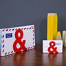 Ampersand Desk Organisers