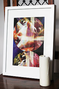 Strata Fine Art Edition Print - modern & abstract
