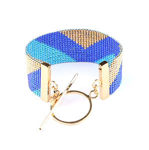 Twilight Navajo Tribal Cuff Bracelet - bracelets & bangles