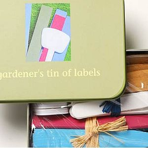 Gardener's Tin Of Labels - tools & equipment
