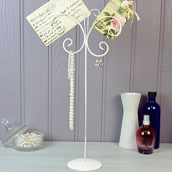 Butterfly Scroll Jewellery Stand