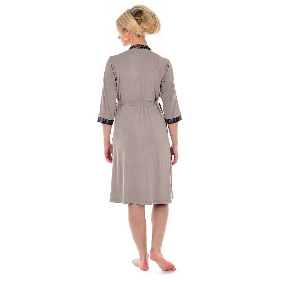 fd1a0dea5de indulgence maternity dressing gown by mamamoosh