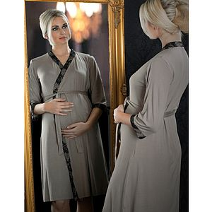 Indulgence Maternity Dressing Gown