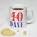 Personalised Significant Birthday Mug