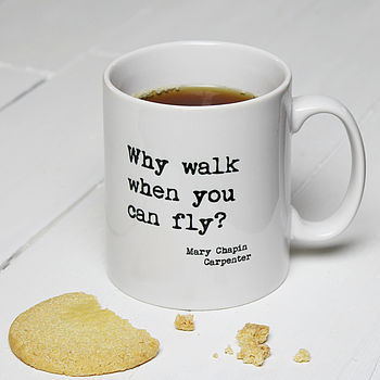 Personalised Inspirational Quote Mug