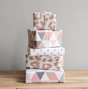 Luxury Wrapping Paper - ribbon & wrap