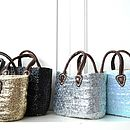 Malika Children Sequinned Basket