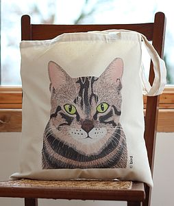 Tabby Cat Handy Bag