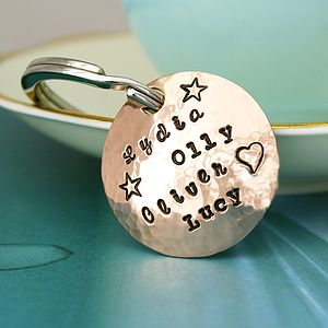 Personalised Mother's Keyring - gifts for mothers