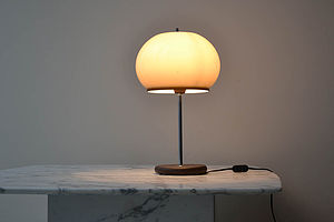 1960's Perspex Domed Side Lamp - home