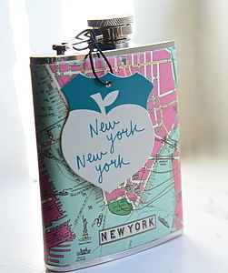 New York Hip Flask - picnics & barbecues