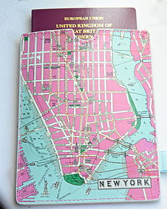 New York Passport Sleeve