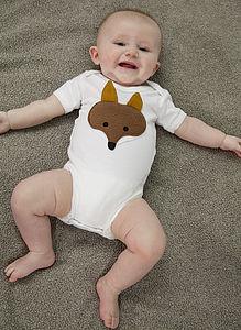 Foxy Babygrow - clothing