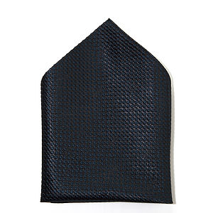 Silk Polka Dot Pocket Square - ties & tie clips
