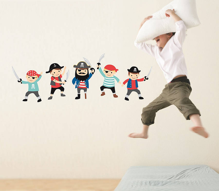 Pirate Wall Stickers By The Little Blue Owl Notonthehighstreet