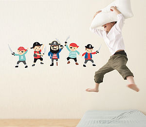 Pirate Wall Stickers - baby's room
