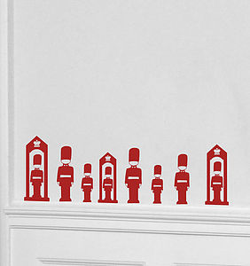 Mini London Guard Wall Stickers - wall stickers