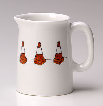 Traffic Cones China Jug