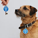 Personalised 'My Pet And Me' Keyring Set