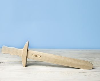 Personalized Wooden Sword