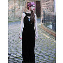Lily Mae Velvet Backless Evening Dress