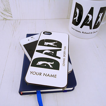 Personalised Dad Loves Golf Case For IPhone