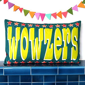 Wowzers Cushion Cover - bedroom