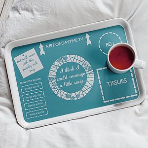 The Get Well Soon Tray - home