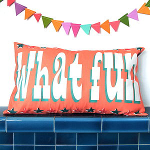 What Fun Cushion Cover