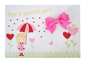 Party Bag Fillers And Hair Bow 'Special Girl'
