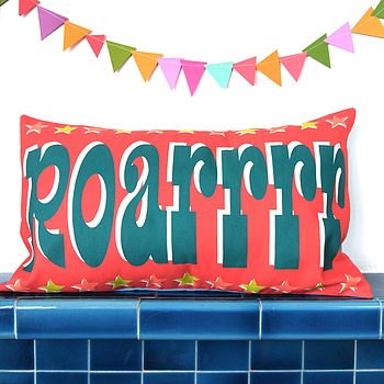 Roarrrr Cushion Cover
