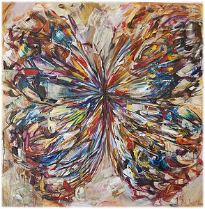 Butterfly Series 18 Print - contemporary art