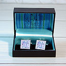 Boxed 21st Cufflinks