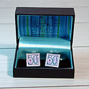 Boxed 50th Cufflinks