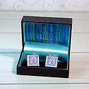 Boxed 60th Cufflinks
