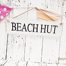 Thumb weathered personalised vintage seaside sign