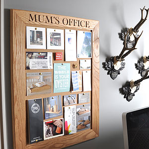 Personalised Cork Or Chalk Notice Board - gifts £75 and over