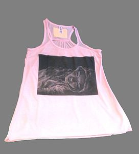 'Imagine' Womens Art Vest Top By Pippa Thew - women's fashion