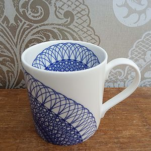 Ingeo Inlay Fine Bone China Mug - tableware