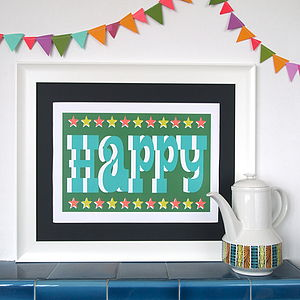 Circus Happy Print - pictures & prints for children
