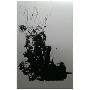 Ink Drop Four Digital Print - modern & abstract