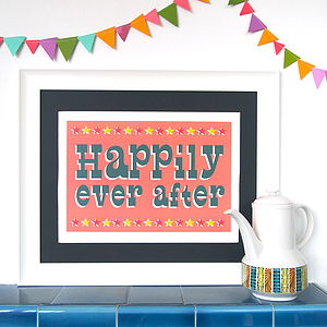 Circus Happily Ever After Print - pictures & prints for children
