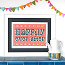 Circus Happily Ever After Print