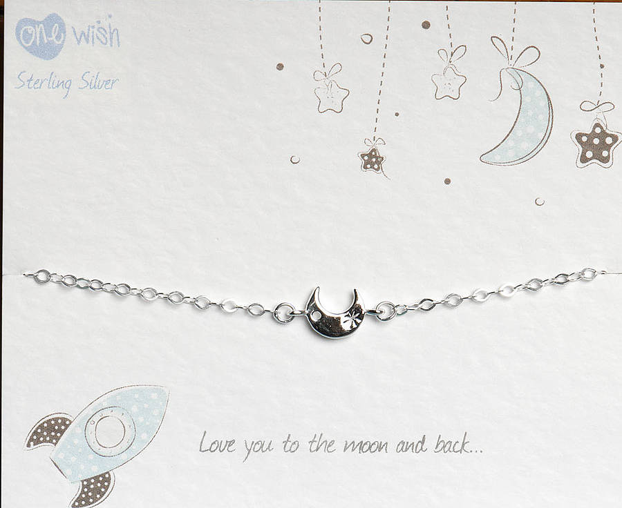 mantraband bangle by violette notonthehighstreet you to the moon and back bracelet by kalk bay
