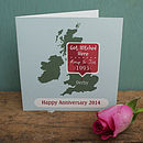 Personalised Valentine's 'Special Place' Card