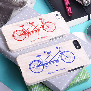Bicycle Made For Two Design For iPhone - phone & tablet covers & cases