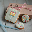 Small Happy Birthday Biscuit Gift Box